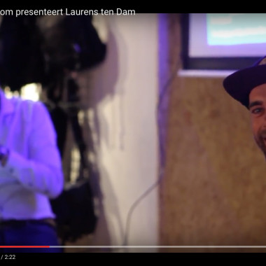 Wouter Roosenboom presenteert Laurens Ten Dam @ AlleyCat